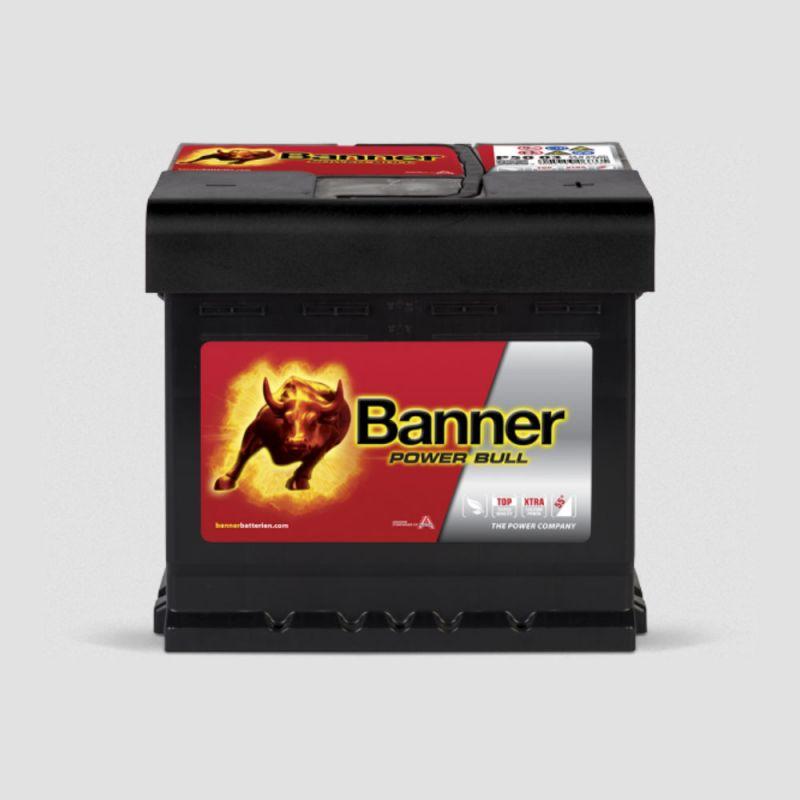 banner power bull p50 03 12v 50ah starterbatterie 450a. Black Bedroom Furniture Sets. Home Design Ideas