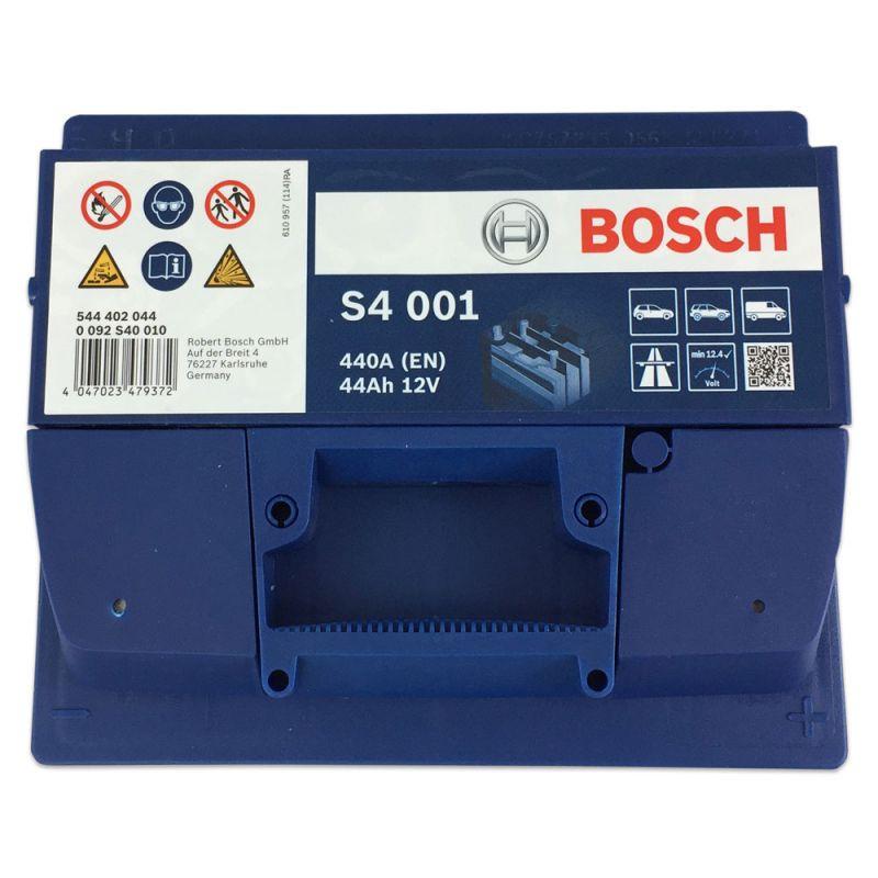 bosch starterbatterie s4 001 544 402 044 12v 44ah 440a en. Black Bedroom Furniture Sets. Home Design Ideas