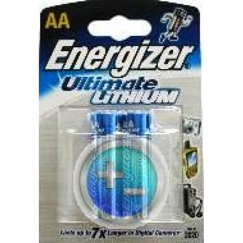 energizer ultimate lithium l91 mignon aa batterie 2er blister. Black Bedroom Furniture Sets. Home Design Ideas
