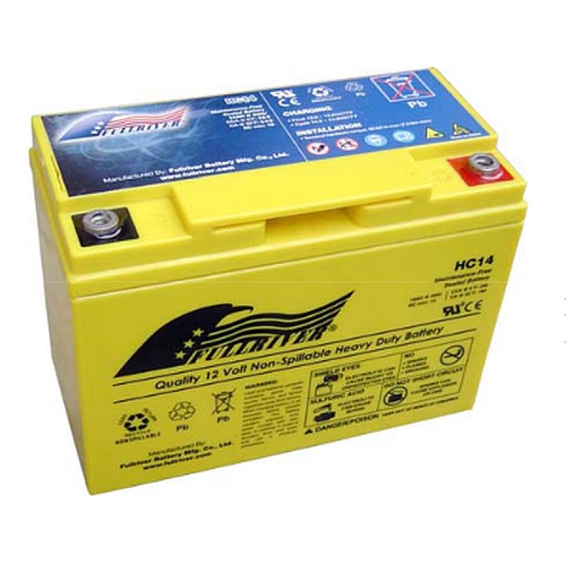 Autobatterien Fullriver HC14B AGM Starter