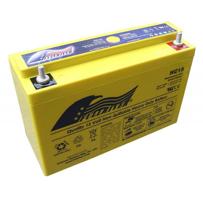 Fullriver HC28 AGM Starter-, Versorgungsbatterie 12V 28Ah 410A
