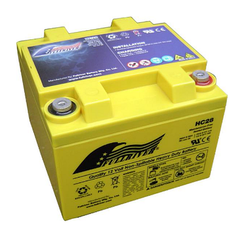 Fullriver HC110 AGM Starter-, Versorgungsbatterie 12V