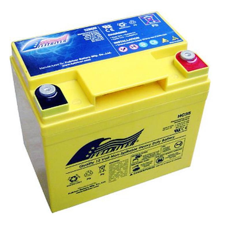 Fullriver HC75 AGM Starter-, Versorgungsbatterie 12V 75Ah 930A