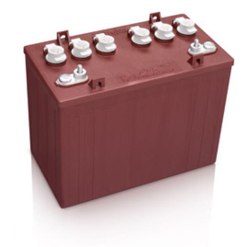 trojan t 1275 plus 12v 150ah deep cycle blei batterie f r trakti. Black Bedroom Furniture Sets. Home Design Ideas